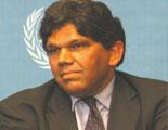 Monsieur Bertand Ramcharan, Haut Commissaire aux Droits de l'Homme de l'ONU, Intérim 2003 - 2004