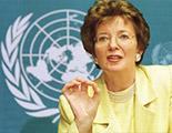 Madame Mary Robinson, Haut Commissaire aux Droits de l'homme de l'ONU, 1997 - 2002