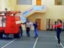 L'entrainement des super pompiers
